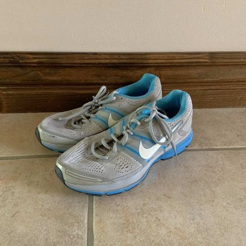 Nike Zoom Blue and Grey Shoes Size 9.5 for sale in Herriman , UT
