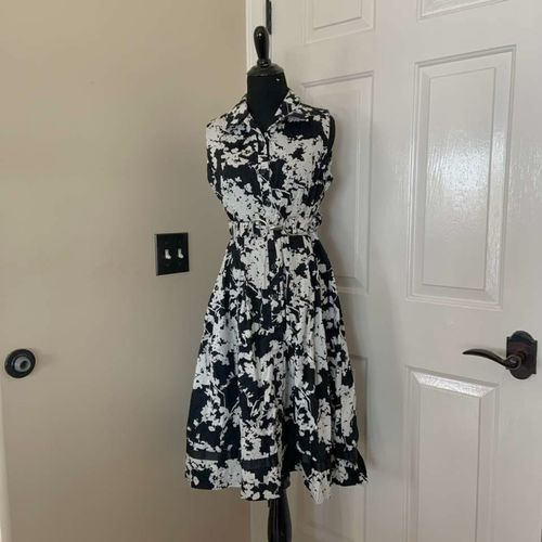 Perceptions New York Black and White Floral Dress for sale in Herriman , UT