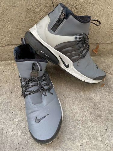 Grey Nike Air Presto Mid Utility Runners Size 10 for sale in Provo , UT