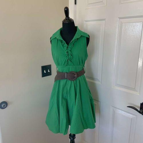 Bailey blue Green Ruffle Dress Size Small  for sale in Herriman , UT