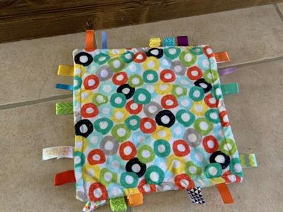 Bright Starts Baby Blanket Taggie Tags Taggies