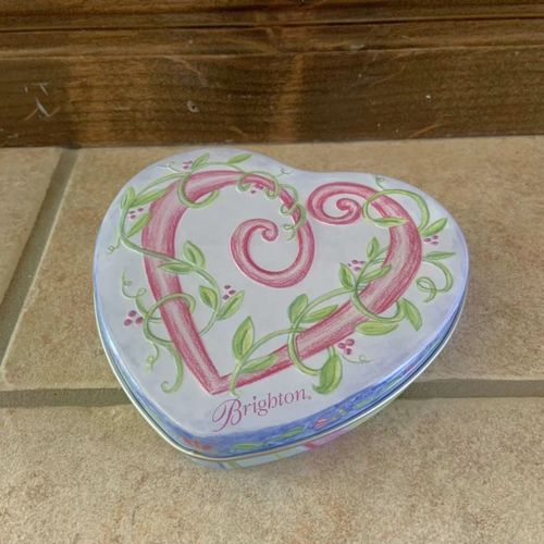 Brighton Small Heart Shaped Jewelry Tin for sale in Herriman , UT
