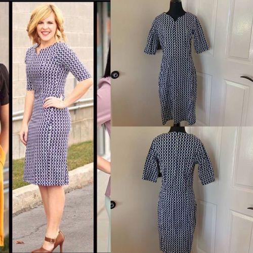 Mikarose Modest Bodycon Dress Size Large Navy Blue for sale in Herriman , UT