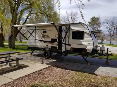 17' Bunkhouse Travel Trailer for Rent