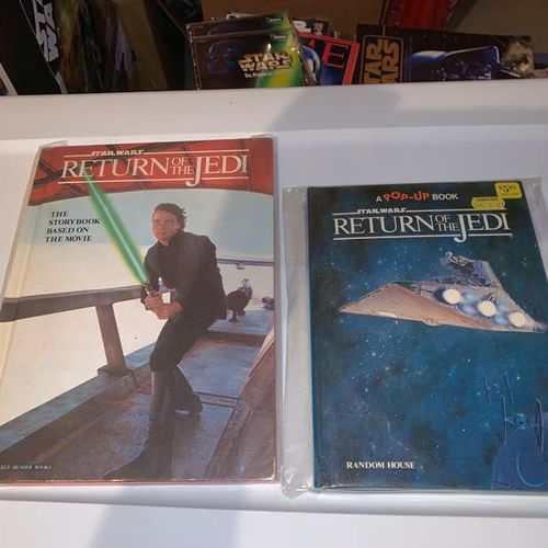 Return Of The Jedi And Pop-Up Books for sale in Salt Lake City , UT