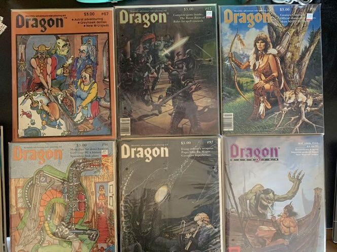 Dungeons And Dragons DRAGON Magazines for sale in Kearns , UT