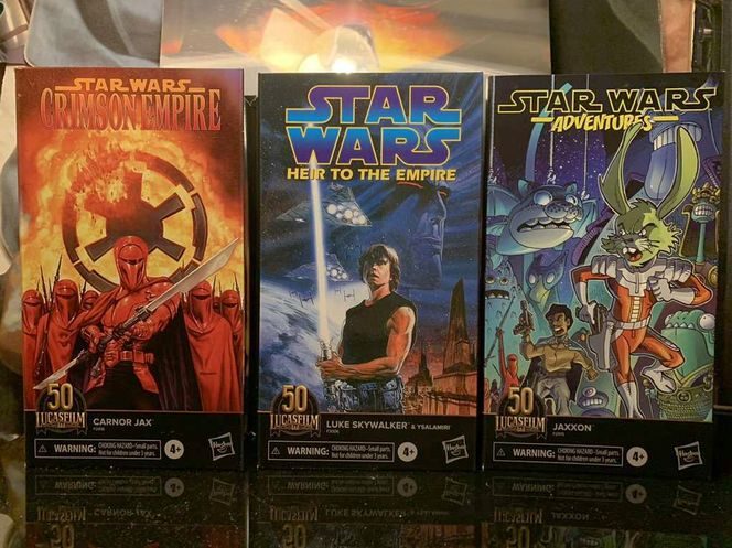 Star Wars 50th Skywalker Ysalamiri Carnor Jaxxon  for sale in Kearns , UT