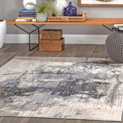 NEW Rivera Abstract Gray 8 ft. x 10 ft. Area Rug for sale in Farmington , UT