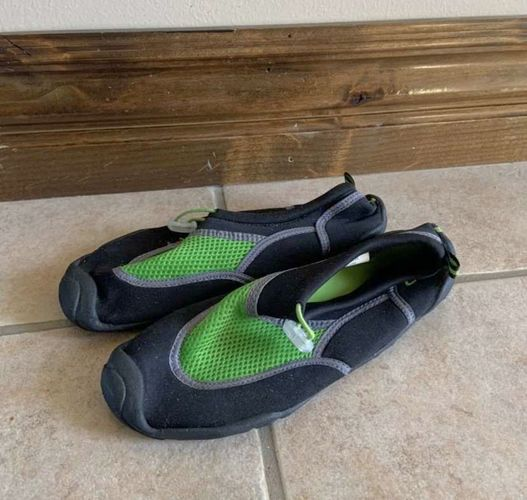 Champion Green and Black Water Shoes Size 6 for sale in Herriman , UT