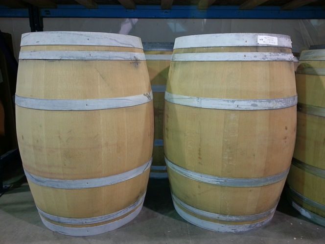 Reclaimed, Genuine OAK WINE BARRELS - Unique material for home decor, landscaping, or project wood for sale in Salt Lake City , UT