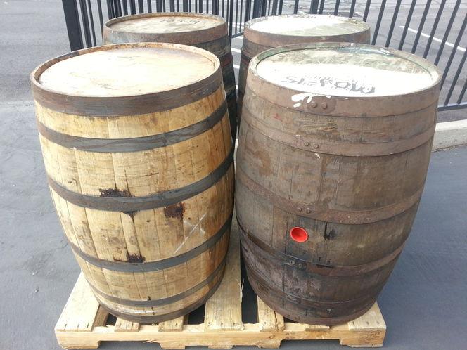 PREMIUM WHISKEY BARRELS from various distilleries - Oak Staves, Steel Bands for sale in Salt Lake City , UT