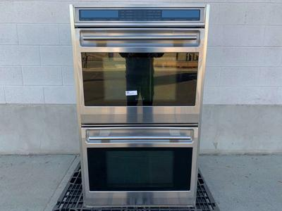 Wolf Double Oven - Electric - Stainless Steel - Rotating Digital Control Panel - Excellent Used Condition