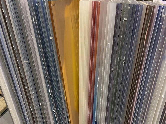 Brand New High Quality 2x4 & 4x4 ft. Acrylic Panels - A Rainbow of Colors - Various Thicknesses for sale in Salt Lake City , UT