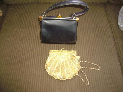Purses, designer purses, evening purses