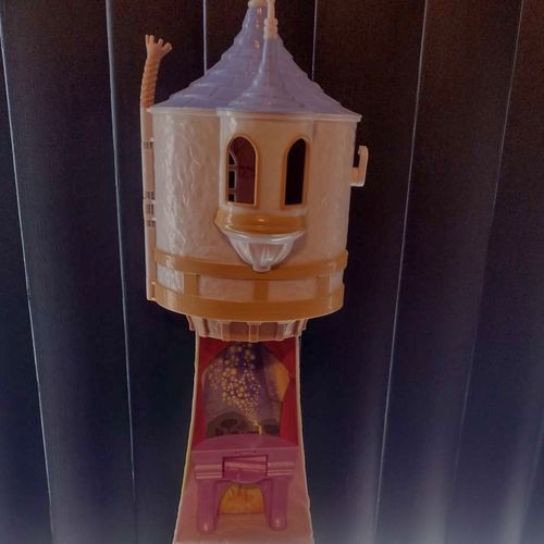 Disney Rapunzel's tower and dolls for sale in Smithfield , UT