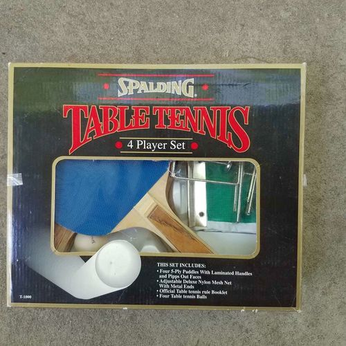 4 player Table Tennis Set, good condition for sale in Ogden , UT