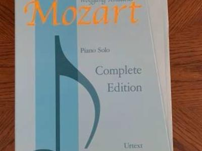 NEW Mozart Piano Solo. Complete Edition.