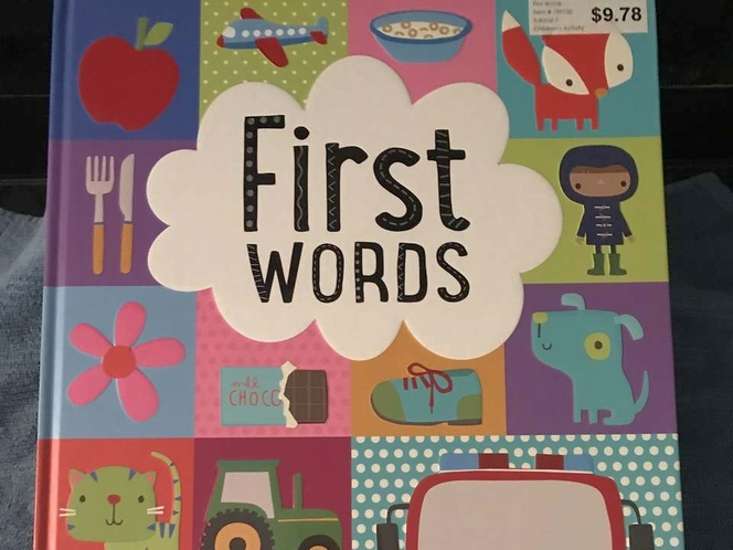FIRST WORDS EXCELLENT BOOK for sale in Sandy , UT