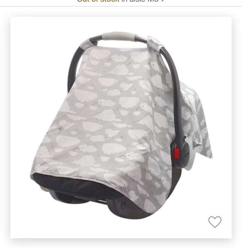 BABY CARSEAT CANOPY CARRIER COVER for sale in Sandy , UT