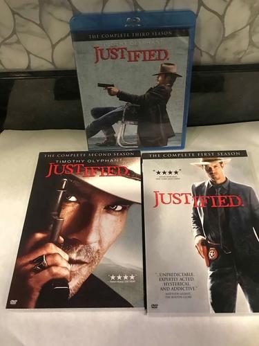 JUSTIFIED TV SERIES SEASONS 1-3 for sale in Sandy , UT
