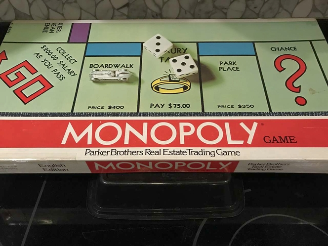 VINTAGE MONOPOLY GAME for sale in Sandy , UT