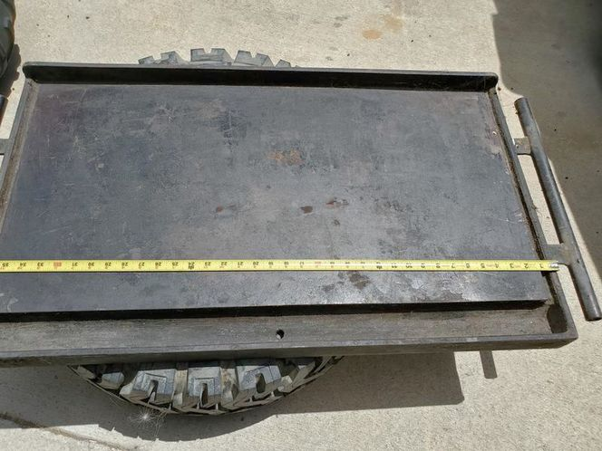 LARGE CAST IRON GRIDDLE. CAMP CHEF OR CAFE for sale in Salt Lake City , UT