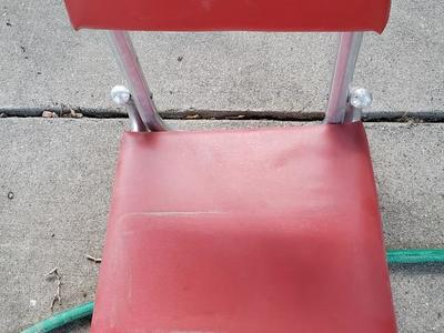 RED U of U Folding Stadium seat