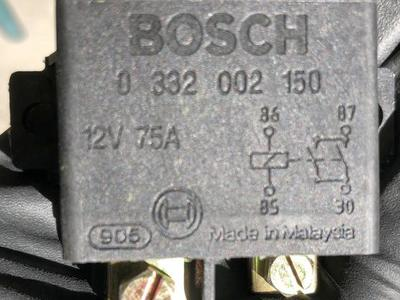 New HD Bosch 12 volts 75 amps relay