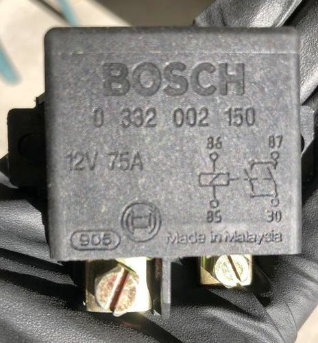 New HD Bosch 12 volts 75 amps relay for sale in Murray , UT
