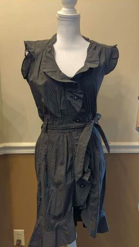 New Hilfiger button up dress WITH POCKETS!! XS for sale in Cottonwood Heights , UT
