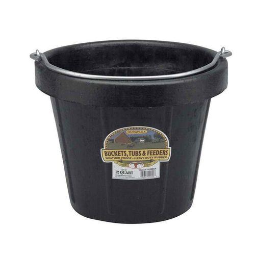 NEW Duraflex 12-qt Rubber Bucket Utility Feed H2O for sale in Sandy , UT