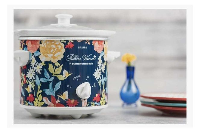 NEW Pioneer Woman 1.5 Qt Fiona Floral Crock Pot for sale in Sandy , UT