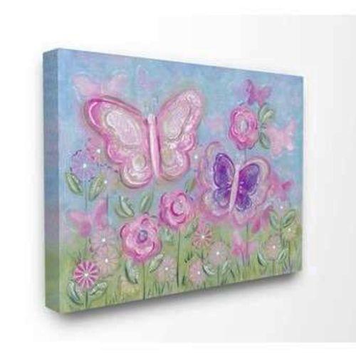 NEW Kids Canvas Print • Pastel Butterflies  for sale in Sandy , UT