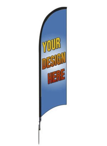 NEW 7-foot Feather Flag Kit Real Estate  Sail Flag for sale in Sandy , UT