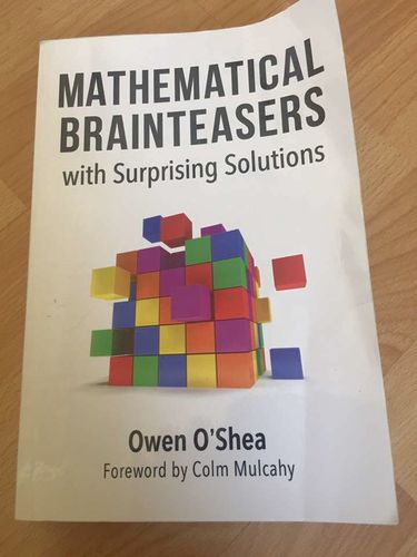 Mathematical Brain teasers Book for sale in Taylorsville , UT