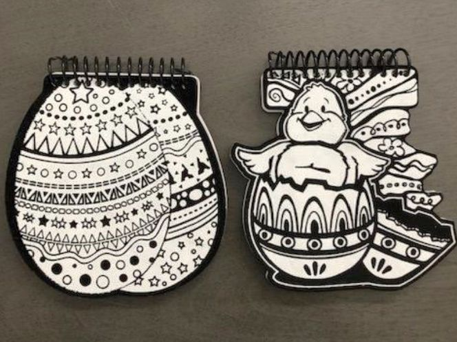 NEW 2 Colorable Cover Easter Notebooks for sale in South Jordan , UT