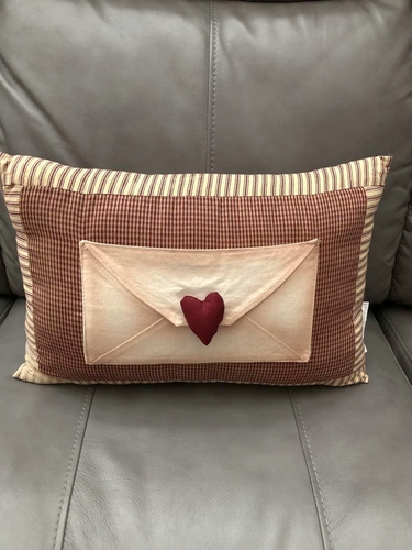Valentine Pillow w/ Envelope for Love Letters for sale in South Jordan , UT