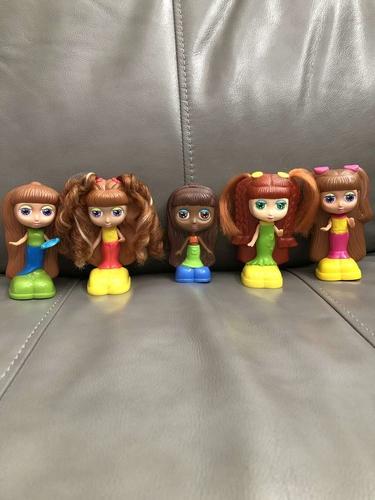 Lot of 5 Mattel Diva Starz Dolls from McDonald's 2001 for sale in South Jordan , UT
