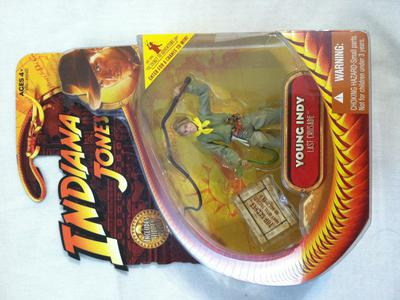 Young Indy Action Figure from Indiana Jones Last Crusade