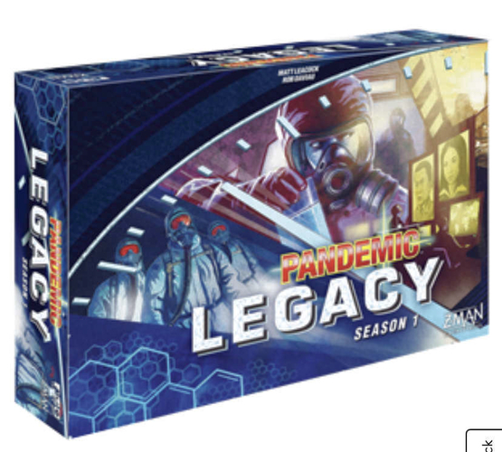 New Pandemic Legacy Season 1 Stategy Board Game for sale in Highland , UT