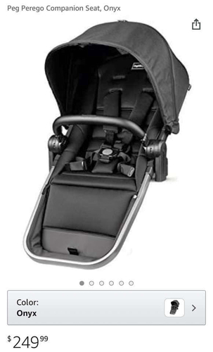 New PegPerego YPSI Companion Stroller Seat for sale in Highland , UT