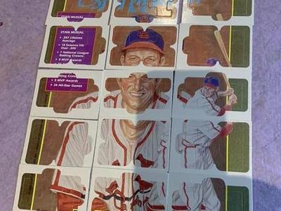 1988 Donruss Baseball Card Puzzle