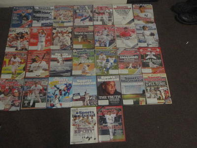 Sports Illustrated Magazines Lot of 30 MLB Related