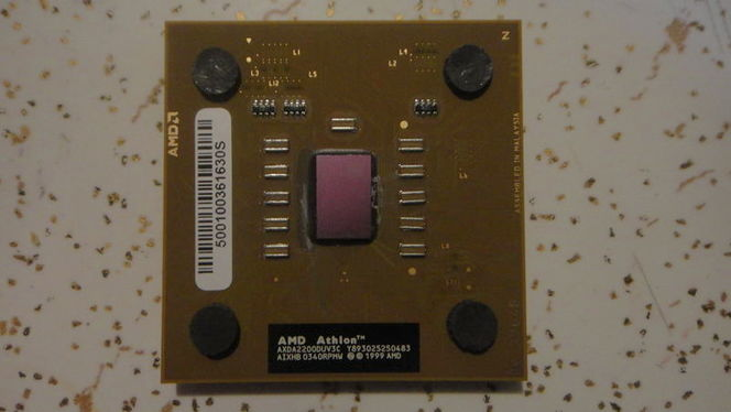 Vintage AMD Processor, Not one Bent pin....... for sale in Salt Lake City , UT