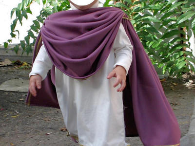 Child's Caesar costume, 12-24 mos