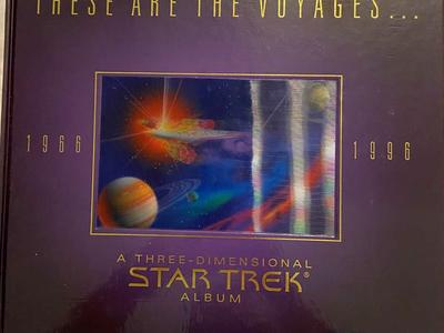 These are the Voyages, A 3 Dimensional Star Trek Album