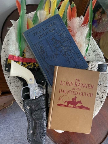 Nostalgic Christmas Gift Set - Lone Ranger Book & Toy Collection for sale in Riverton , UT