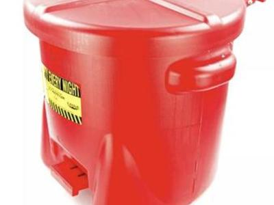 Eagle 935FL 10 Gallon Oily Waste Safety Can -  New