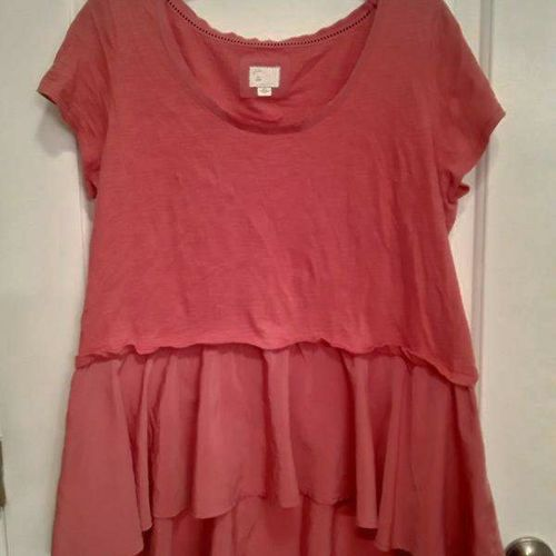 Coral-Colored Shirt-Large for sale in West Jordan , UT