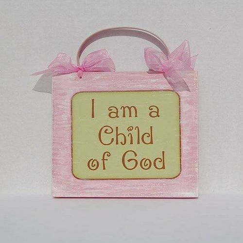 I am a child of God plaque for sale in Sandy , UT